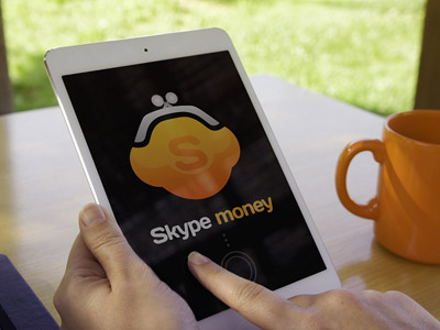 Логотип Skype Money